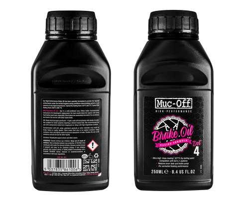 MUC-OFF High Performance Brake Oil (DOT 4) 250ml